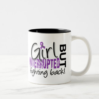 Girl Interrupted 2 Chiari Malformation Two-Tone Coffee Mug