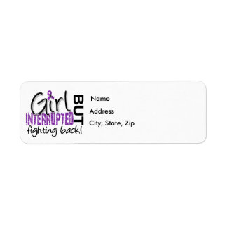 Girl Interrupted 2 Crohn's Disease Label