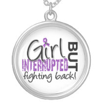Girl Interrupted 2 Crohn's Disease Silver Plated Necklace