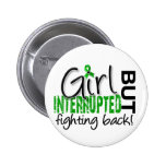 Girl Interrupted 2 Depression Pinback Buttons