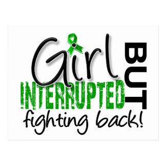 Girl Interrupted 2 Depression Postcard
