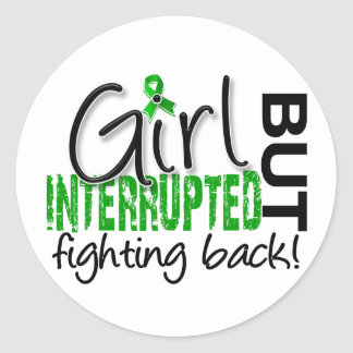 Girl Interrupted 2 Depression Stickers