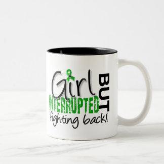 Girl Interrupted 2 Depression Two-Tone Coffee Mug
