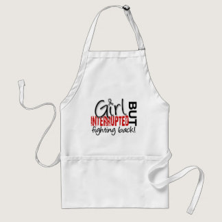Girl Interrupted 2 Diabetes Adult Apron