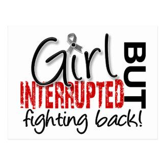 Girl Interrupted 2 Diabetes Postcard