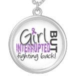 Girl Interrupted 2 Epilepsy Round Pendant Necklace