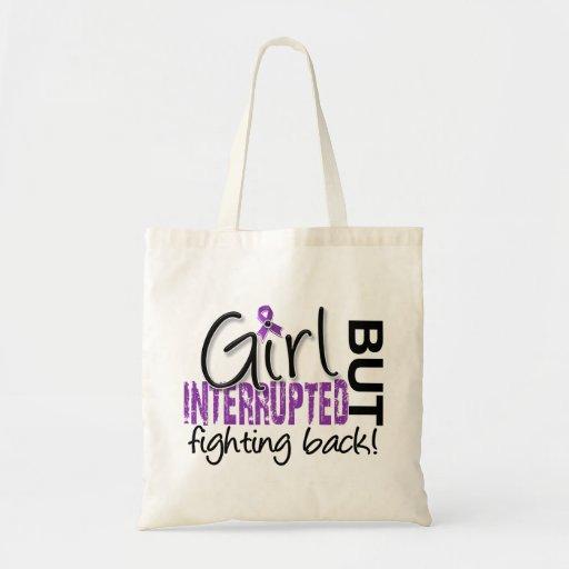 Girl Interrupted 2 Fibromyalgia Tote Bags