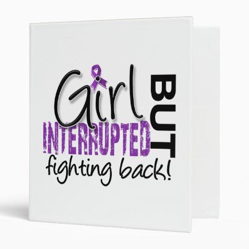 Girl Interrupted 2 Fibromyalgia Vinyl Binders