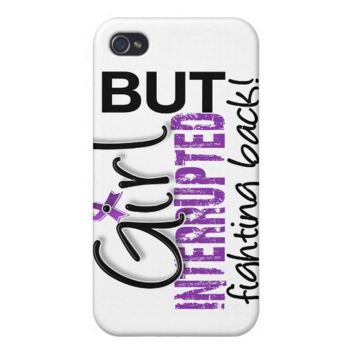 Girl Interrupted 2 Fibromyalgia iPhone 4 Cover