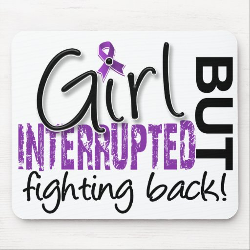 Girl Interrupted 2 Fibromyalgia Mouse Pad