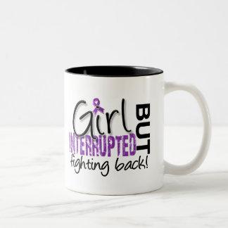 Girl Interrupted 2 Fibromyalgia Two-Tone Coffee Mug