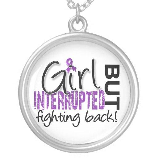 Girl Interrupted 2 Fibromyalgia Personalized Necklace