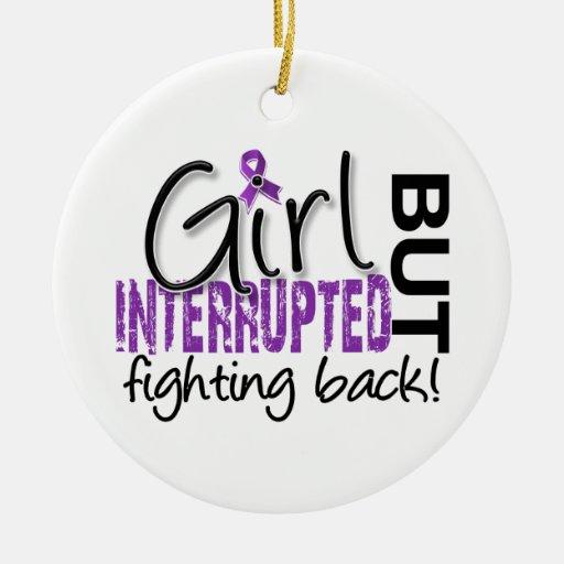 Girl Interrupted 2 Fibromyalgia Ornaments