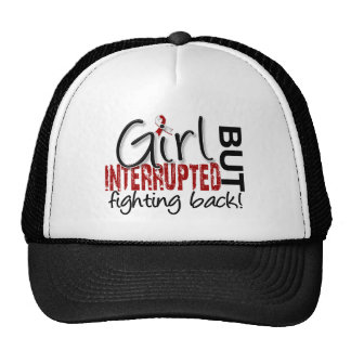 Girl Interrupted 2 Head and Neck Cancer Mesh Hat