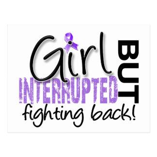 Girl Interrupted 2 Hodgkin's Lymphoma Postcard