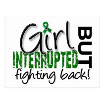 Girl Interrupted 2 Liver Cancer Postcard