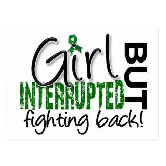 Girl Interrupted 2 Liver Cancer Postcard