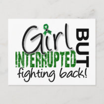 Girl Interrupted 2 Liver Disease Postcard