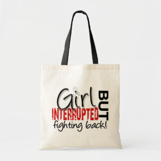 Girl Interrupted 2 Lung Cancer Tote Bag
