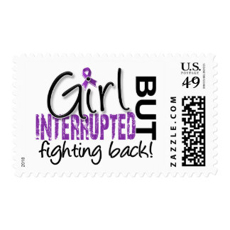 Girl Interrupted 2 Lupus Postage Stamp
