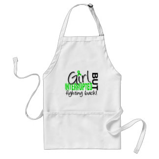 Girl Interrupted 2 Lyme Disease Adult Apron