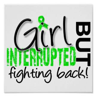 Girl Interrupted 2 Lyme Disease Poster