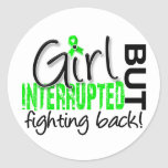 Girl Interrupted 2 Lyme Disease Classic Round Sticker