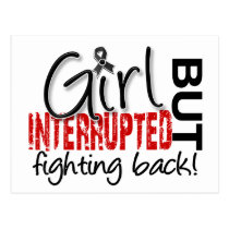 Girl Interrupted 2 Melanoma Postcard