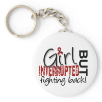 Girl Interrupted 2 Multiple Myeloma Keychain
