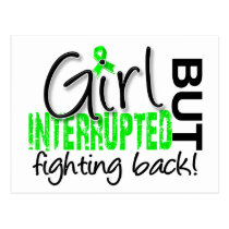 Girl Interrupted 2 Non-Hodgkin's Lymphoma Postcard