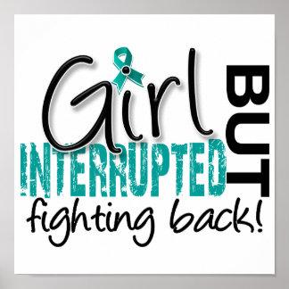 Girl Interrupted 2 Ovarian Cancer Print