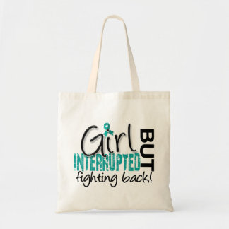 Girl Interrupted 2 Ovarian Cancer Tote Bag