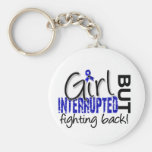Girl Interrupted 2 Rheumatoid Arthritis Basic Round Button Keychain