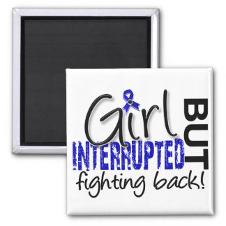 Girl Interrupted 2 Rheumatoid Arthritis 2 Inch Square Magnet