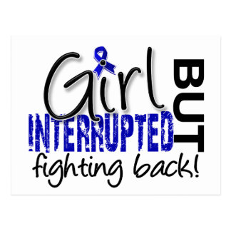 Girl Interrupted 2 Rheumatoid Arthritis Postcard