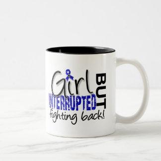 Girl Interrupted 2 Rheumatoid Arthritis Two-Tone Coffee Mug