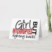 Girl Interrupted 2 Skin Cancer Card