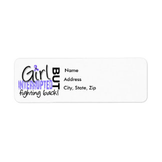 Girl Interrupted 2 Stomach Cancer Label