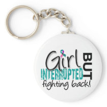 Girl Interrupted 2 Thyroid Cancer Keychain