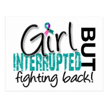 Girl Interrupted 2 Thyroid Cancer Postcard