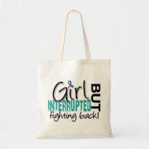Girl Interrupted 2 Thyroid Cancer Tote Bag
