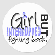 Girl Interrupted 2 Thyroid Disease Classic Round Sticker