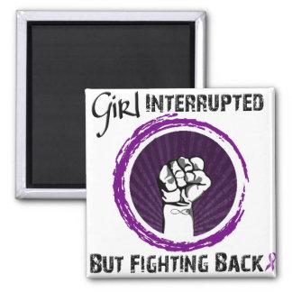 Girl Interrupted...But Fighting Back!! Magnet