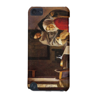Girl interrupted in her music by Johannes Vermeer iPod Touch 5G Cover
