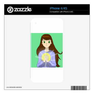 girl iPhone 4S skin