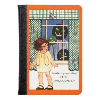 Girl Jack O' Lantern Pumpkin Trick Or Treat