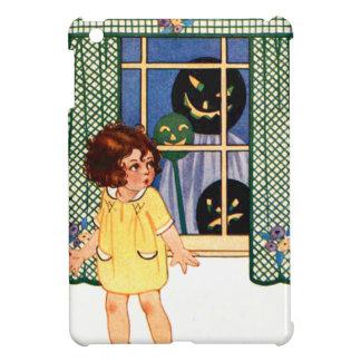 Girl Jack O' Lantern Pumpkin Trick Or Treat Case For The iPad Mini