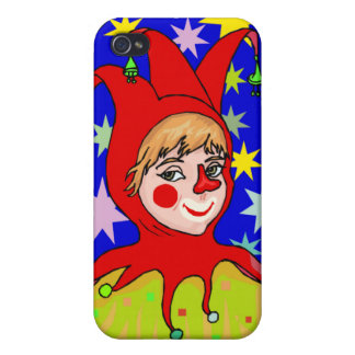 Girl Jester Case For iPhone 4