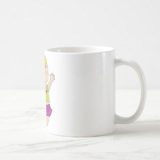 Girl Jumping Coffee Mug