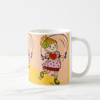 Girl Jumping Rope Coffee Mug